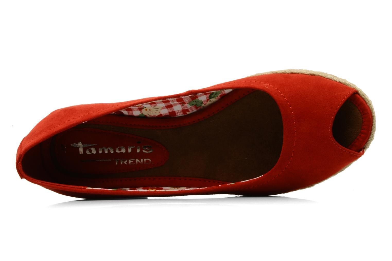 Ballerine Tamaris Laby Rosso immagine sinistra