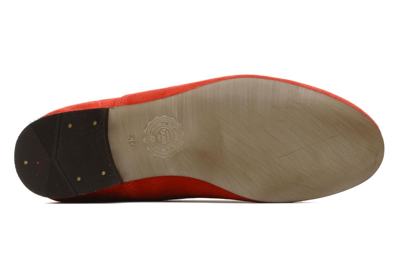 Scarpe con lacci Base London Sax Rosso immagine dall'alto