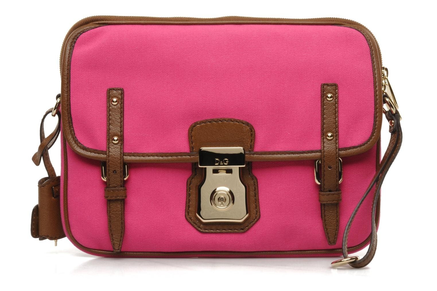 Clutch D&G ALYSSON CANVAS Roze detail