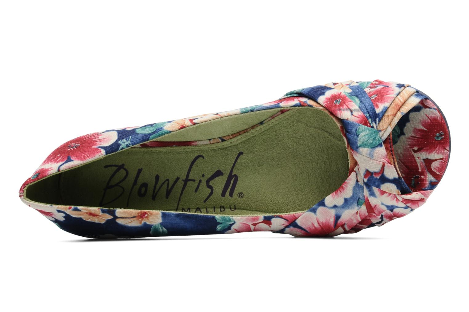 SANCHIA COBALT BLUE LOLA PRINT
