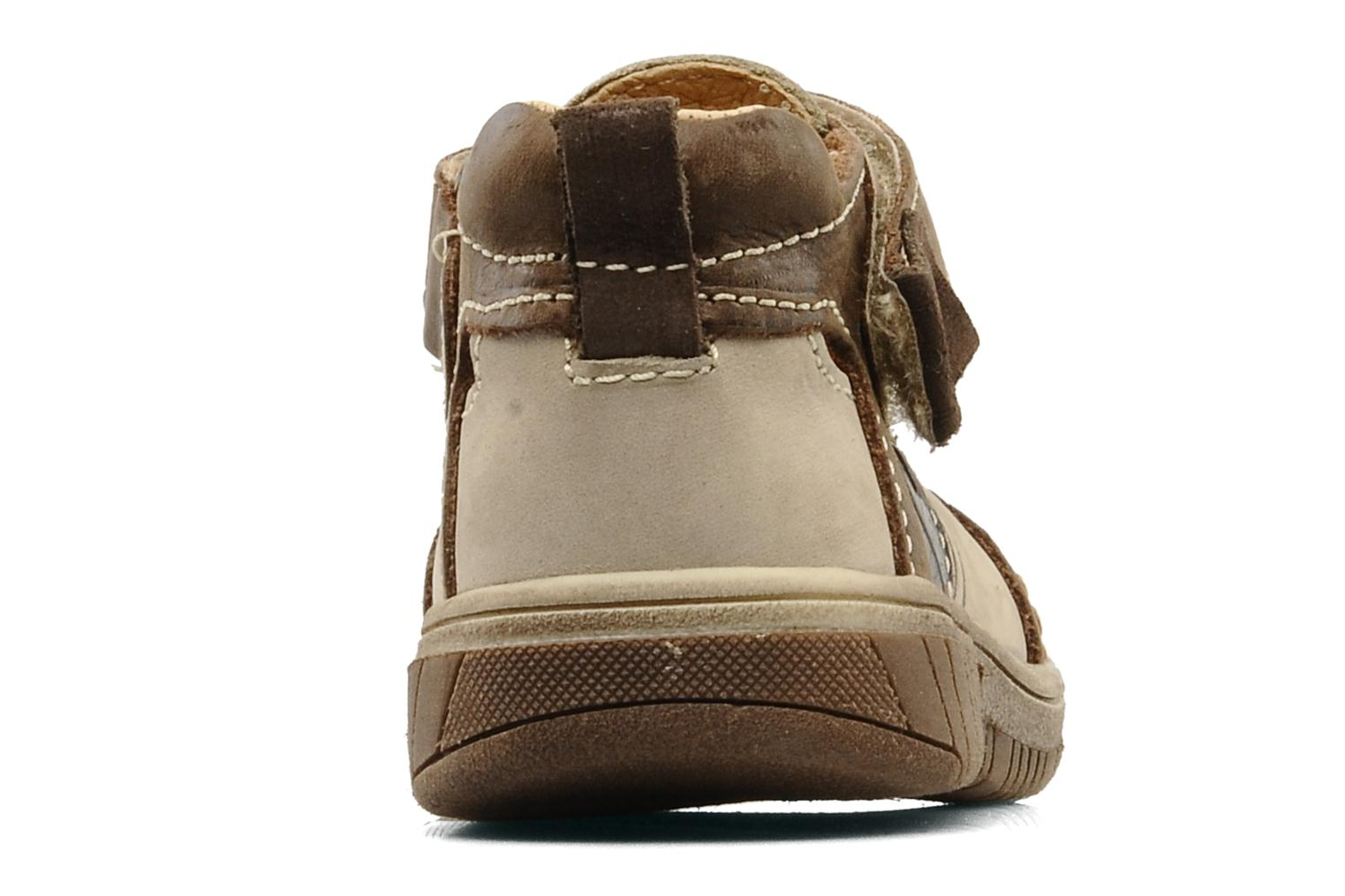 Trainers Babybotte Sheridan Beige view from the right
