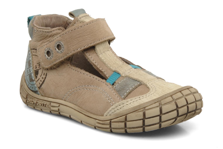 Boots en enkellaarsjes Babybotte Sharle Bruin detail