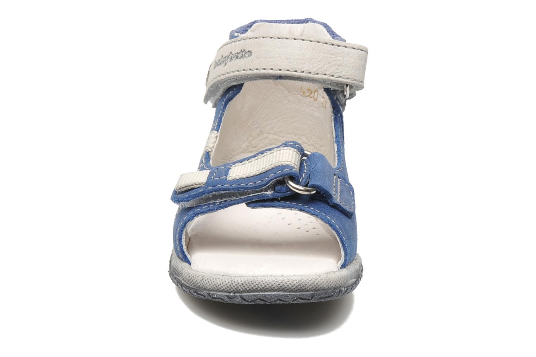 Sandalen Babybotte Tabarli blau schuhe getragen