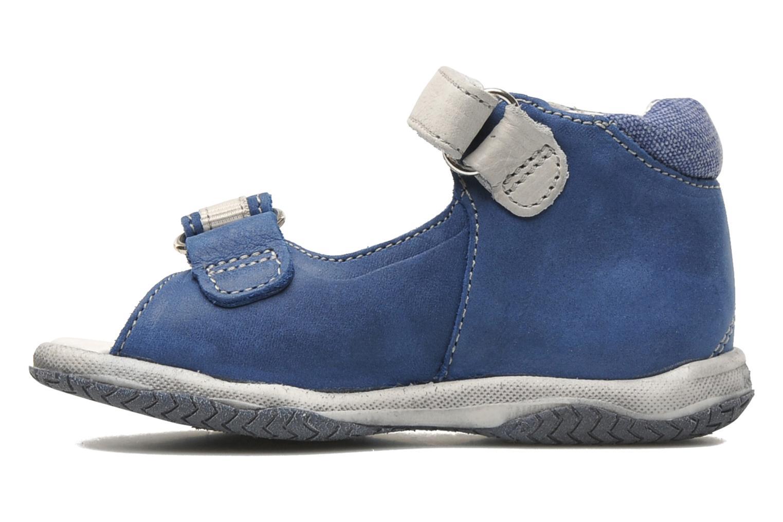 Sandalen Babybotte Tabarli blau ansicht von vorne