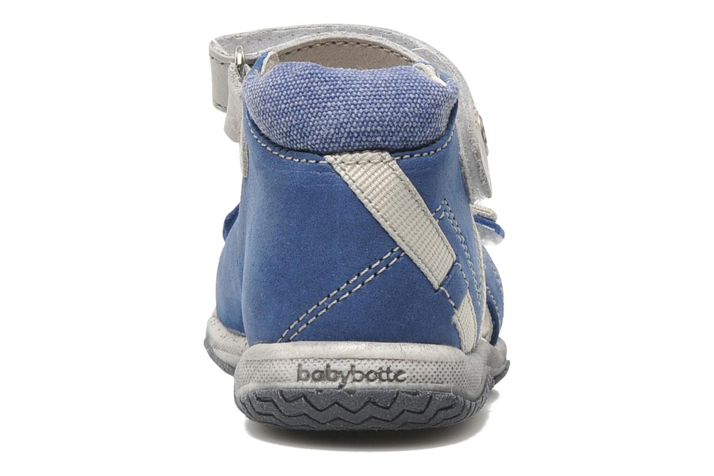 Sandalen Babybotte Tabarli blau ansicht von rechts