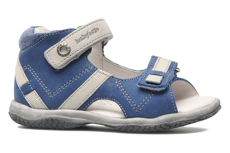 Sandalen Babybotte Tabarli blau ansicht von hinten