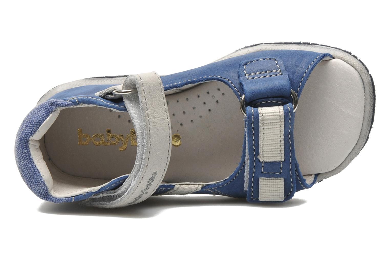 Sandalen Babybotte Tabarli blau ansicht von links