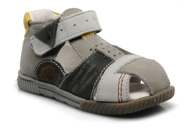 Sandales et nu-pieds Babybotte Tabarli Gris vue détail/paire