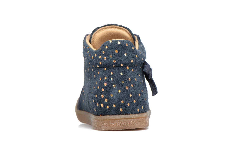 Bottines et boots Babybotte Falsifi Bleu vue droite