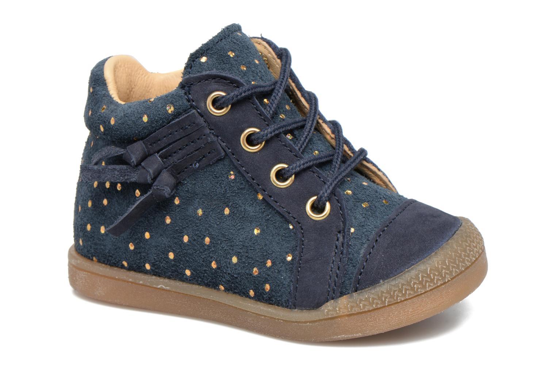 Bottines et boots Babybotte Falsifi Bleu vue détail/paire