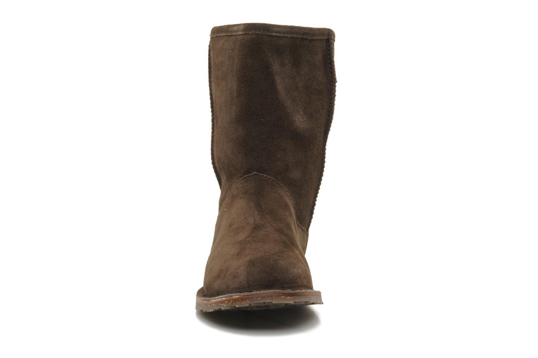 Stiefeletten & Boots Emu Australia DUTTON LO braun schuhe getragen