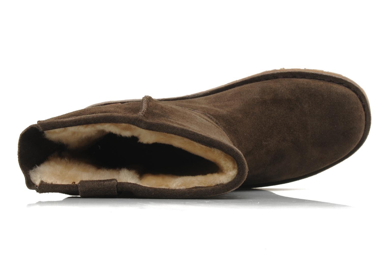 Stiefeletten & Boots Emu Australia DUTTON LO braun ansicht von links