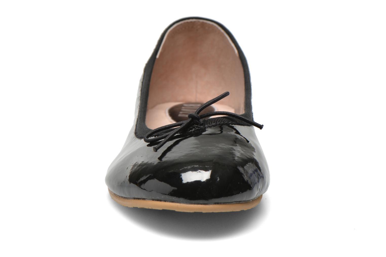 Ballerines Bloch Girls Chacha Noir vue portées chaussures