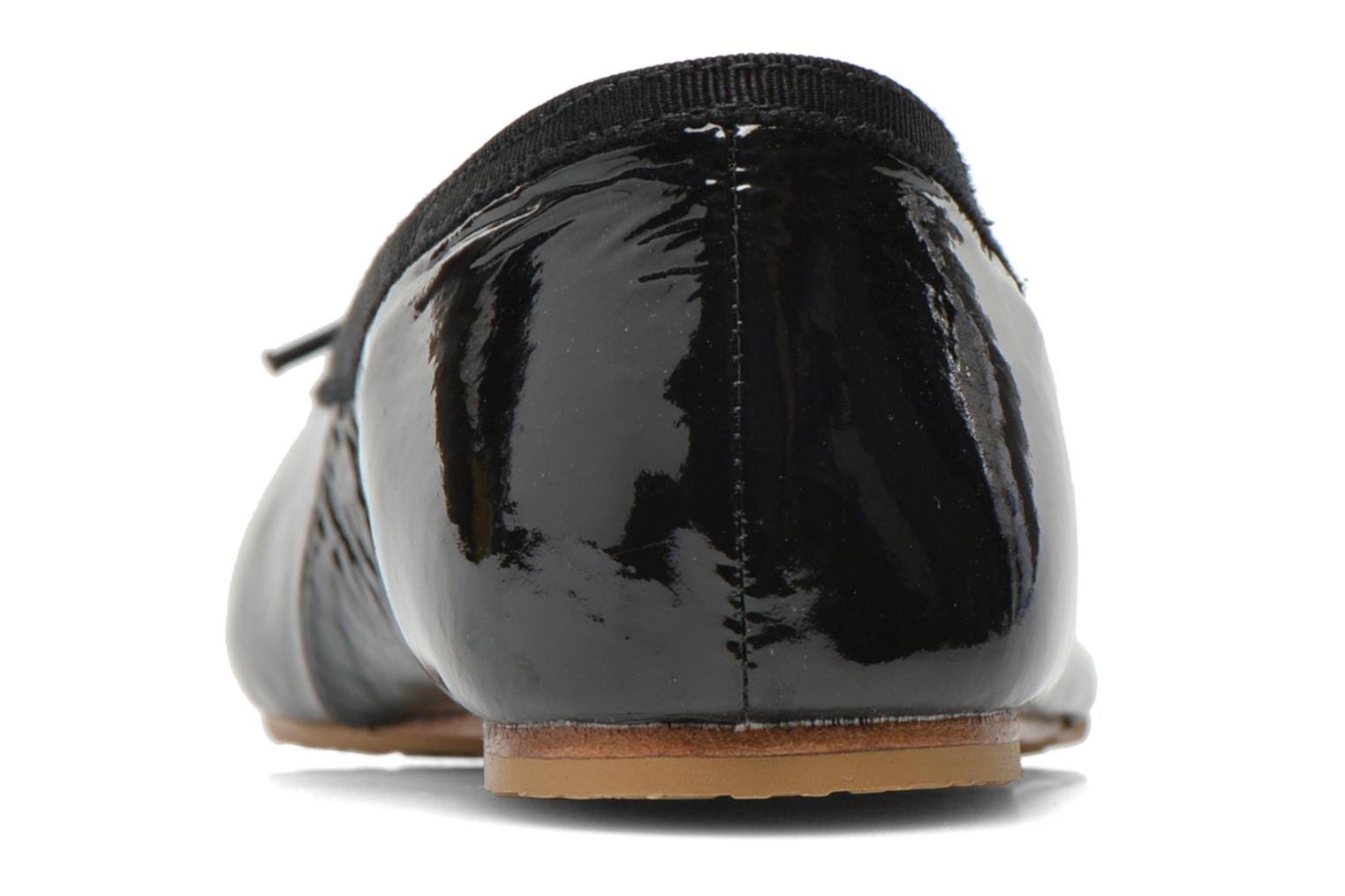 Ballet pumps Bloch Girls Chacha Black view from the right
