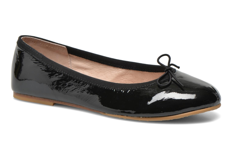 Ballerinaer Bloch Girls Chacha Sort detaljeret billede af skoene