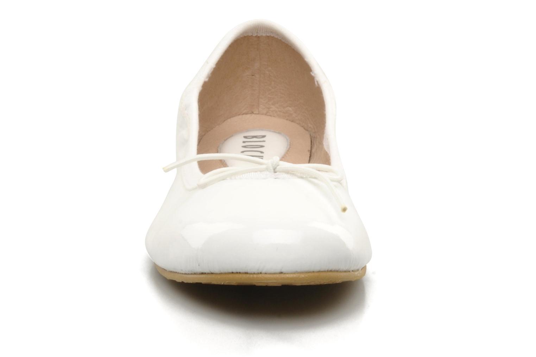 Ballerinaer Bloch Girls Chacha Hvid se skoene på