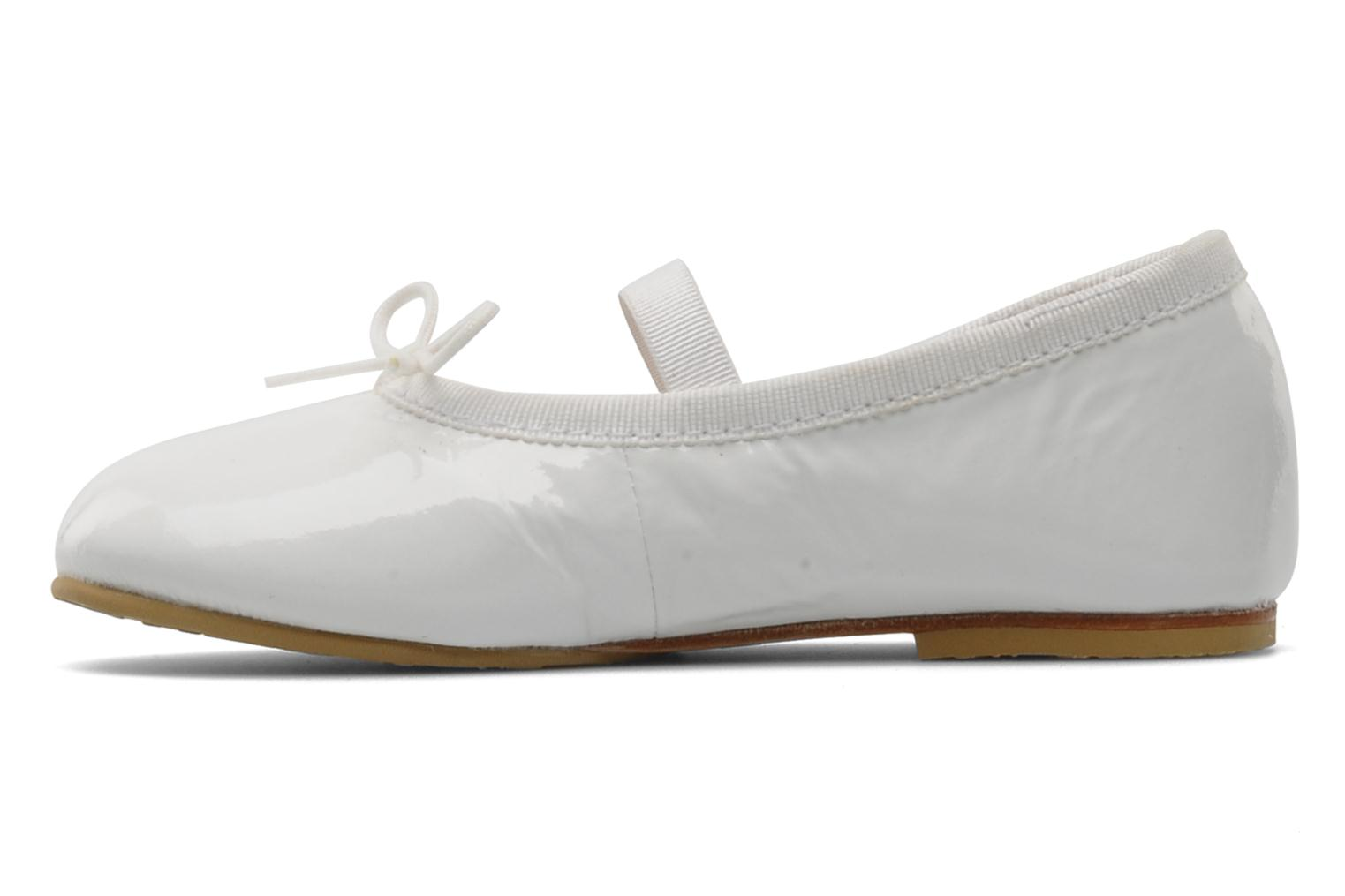 Ballet pumps Bloch Toddler Cha cha White front view