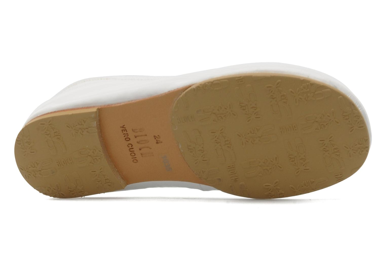 Ballet pumps Bloch Toddler Cha cha White view from above