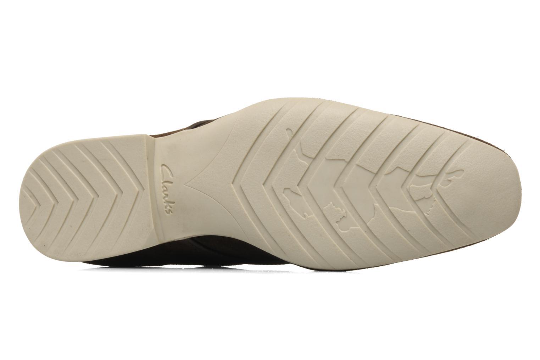 Schnürschuhe Clarks Extra Mode braun ansicht von oben