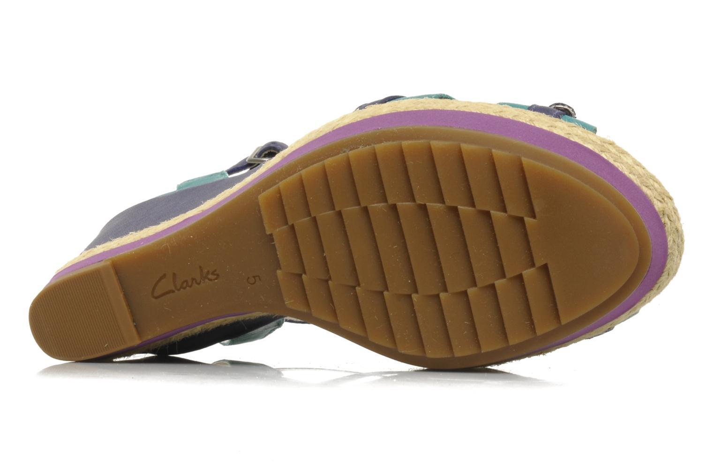 Sandali e scarpe aperte Clarks Scent Trail Multicolore immagine dall'alto