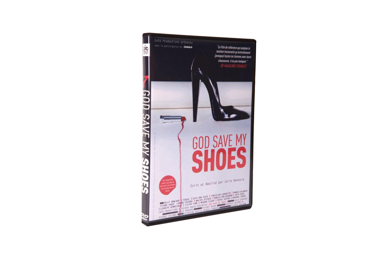 DVD God save my shoes DVD