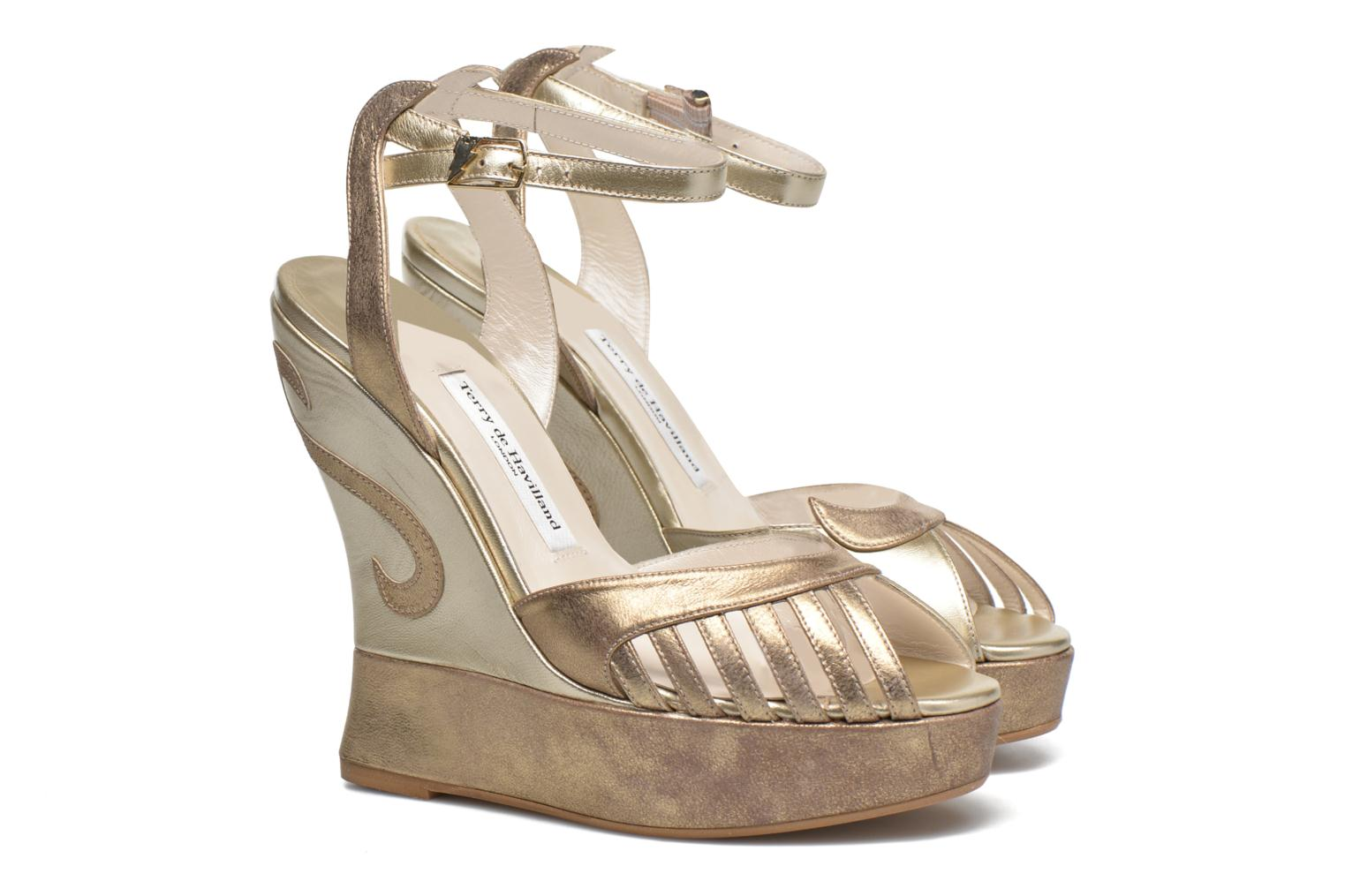 Sandalen Terry de Havilland Margaux gold/bronze 3 von 4 ansichten