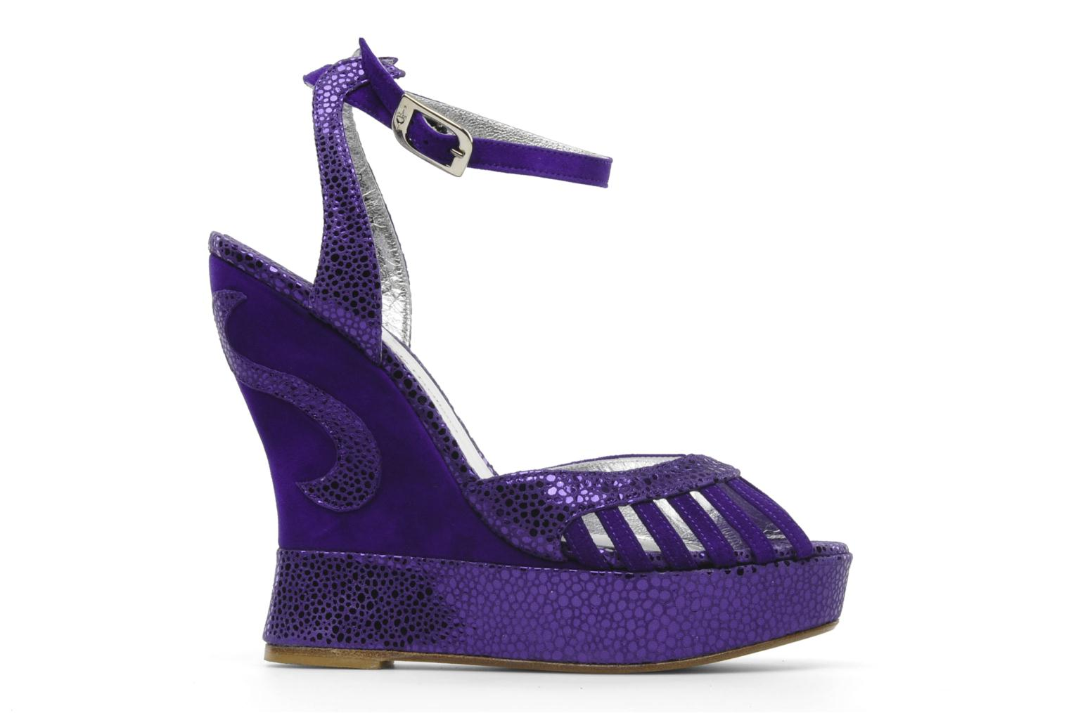 Sandals Terry de Havilland Margaux Purple back view