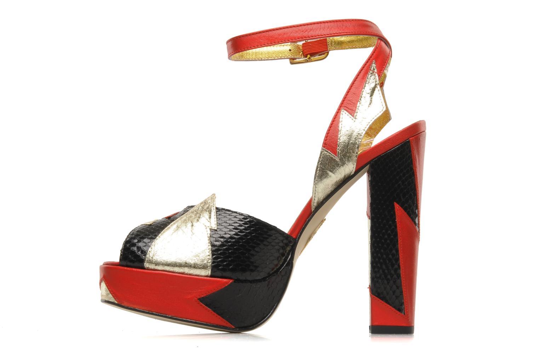 Sandales et nu-pieds Terry de Havilland Zia Multicolore vue face