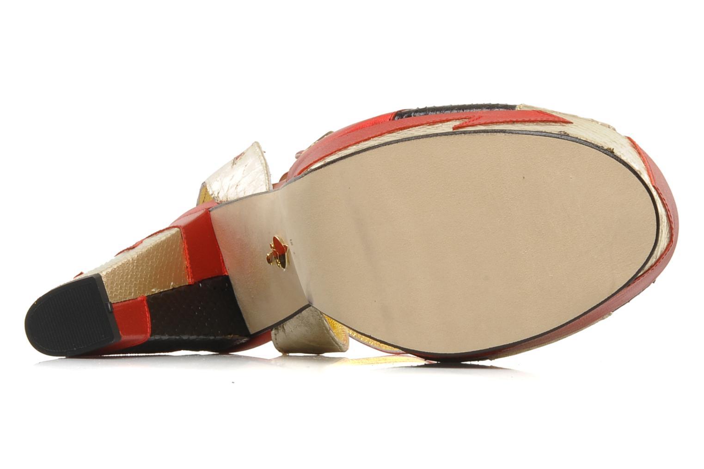 Sandales et nu-pieds Terry de Havilland Zia Multicolore vue haut