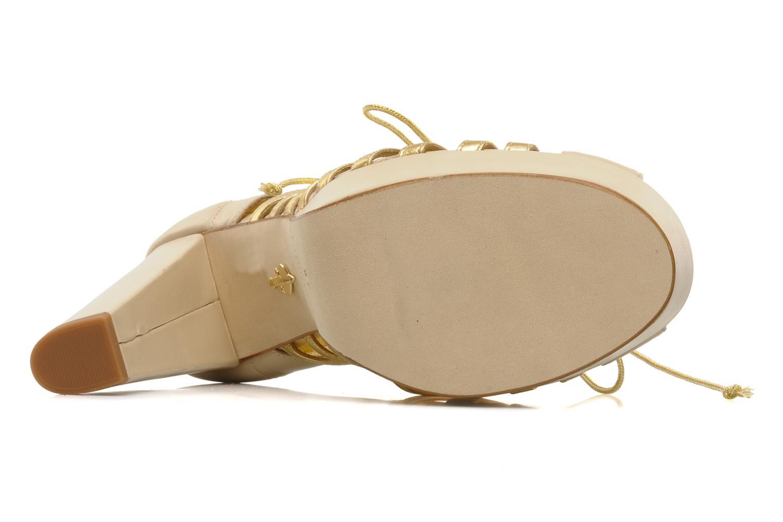 High heels Terry de Havilland Jessie Bronze and Gold view from above