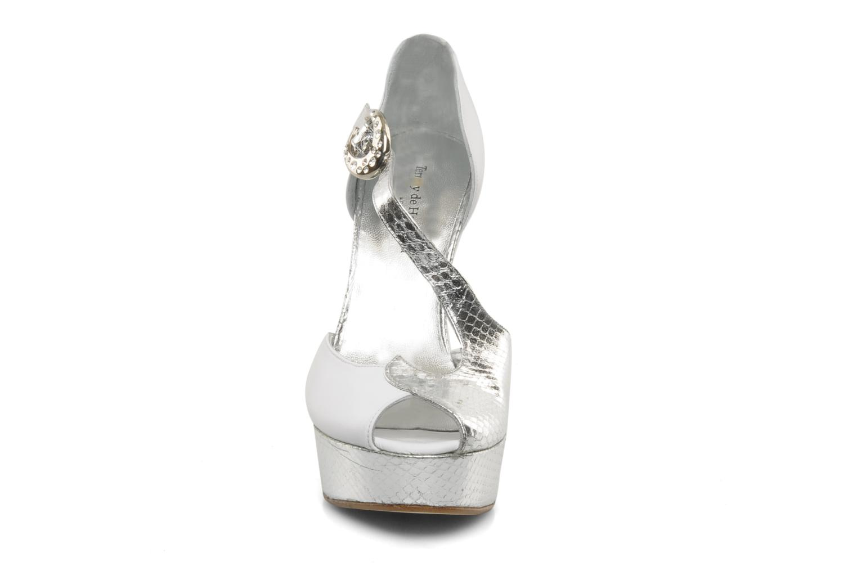 Escarpins Terry de Havilland Pennie Blanc vue portées chaussures