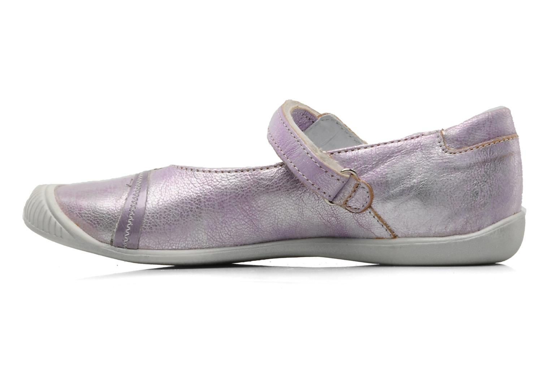 Ballerinas Little Mary Jenoise lila ansicht von vorne