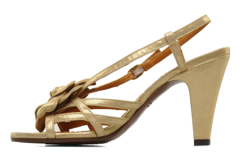 Sandalen Chie Mihara Vossa gold/bronze ansicht von vorne