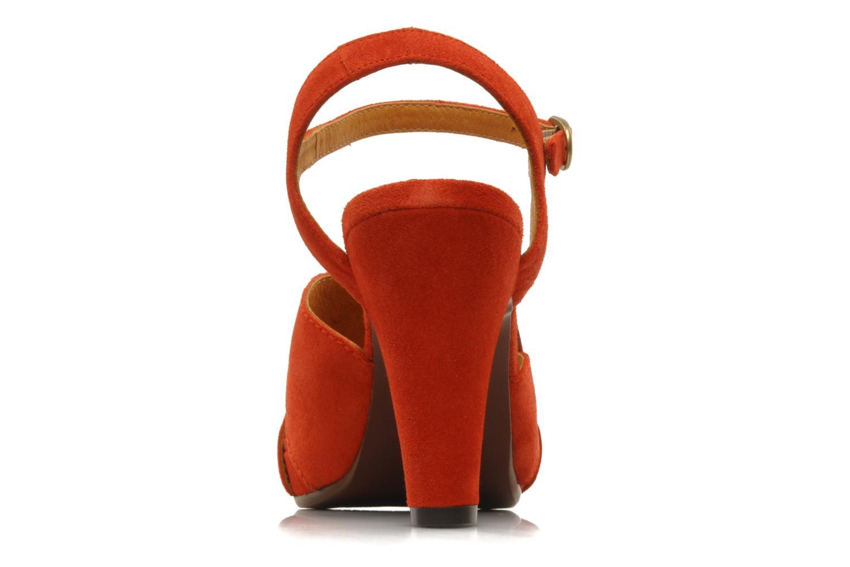 Sandali e scarpe aperte Chie Mihara Xoni Arancione immagine destra