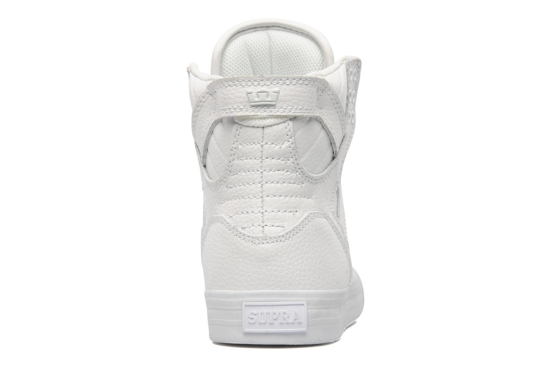 Sneakers Supra Skytop Wit rechts