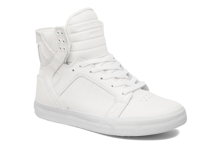 Sneakers Supra Skytop Wit detail