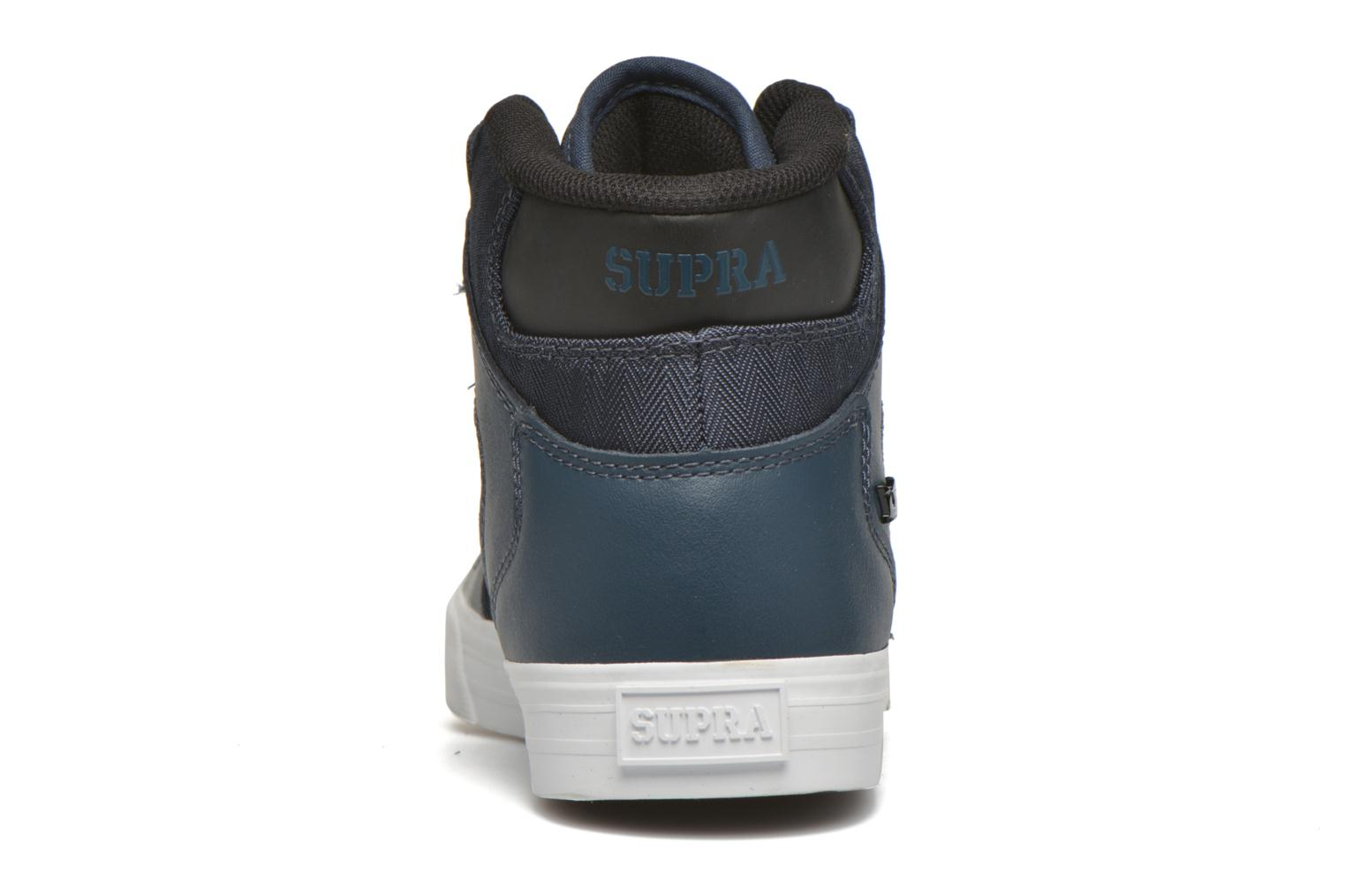 Trainers Supra Vaider Blue view from the right