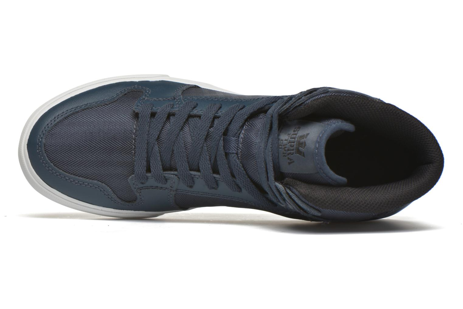 Trainers Supra Vaider Blue view from the left