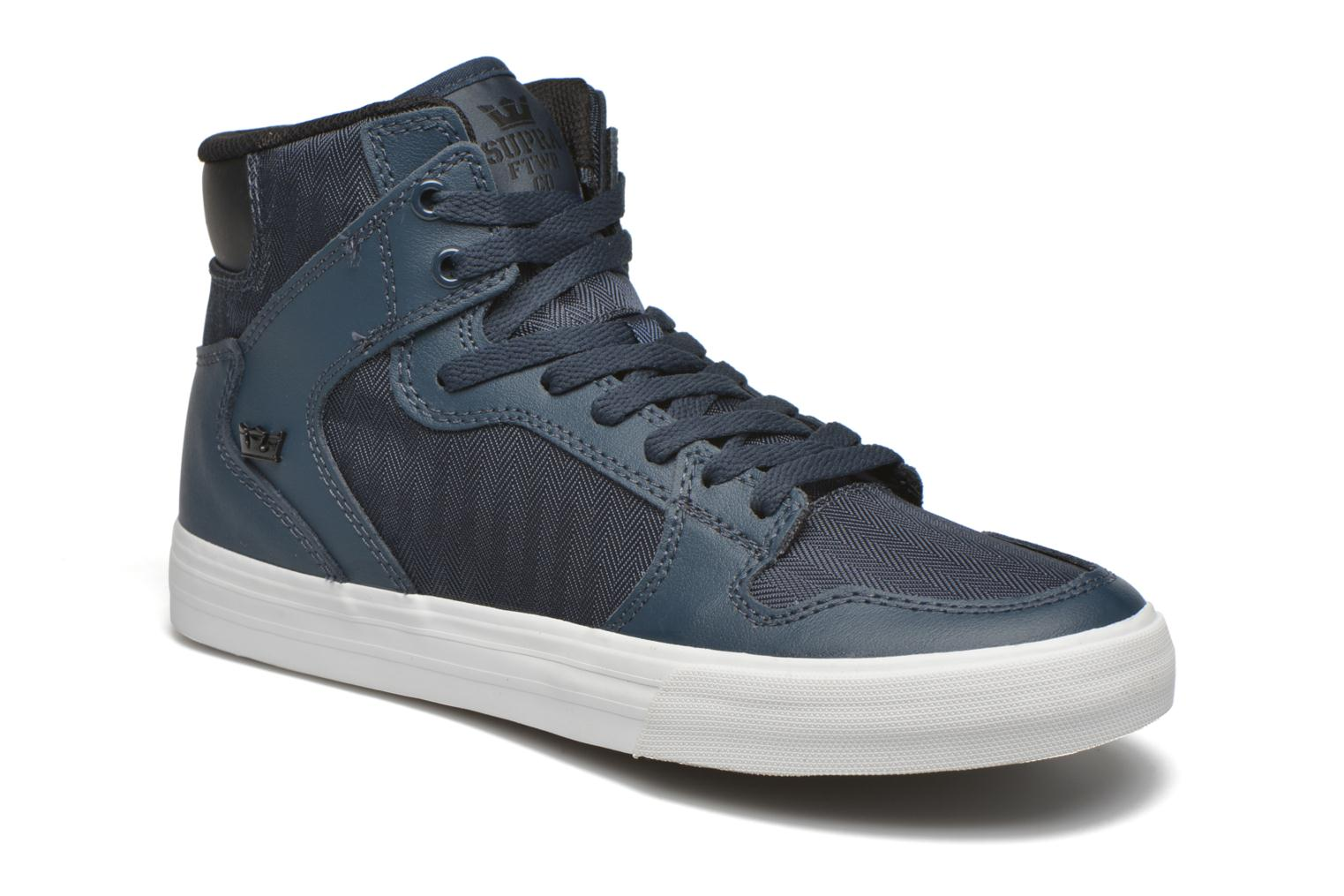 Trainers Supra Vaider Blue detailed view/ Pair view