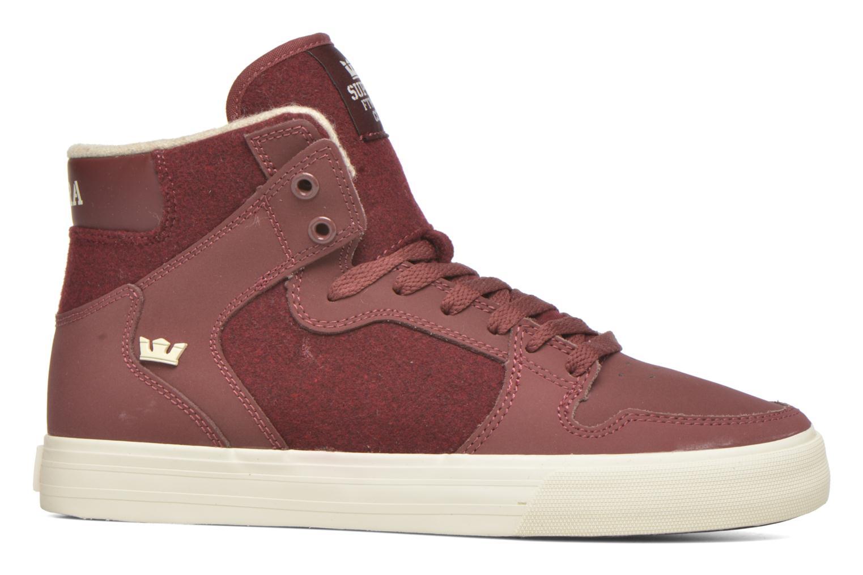 Sneakers Supra Vaider Bordeaux achterkant