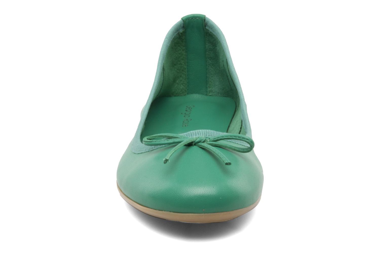 Ballerines Georgia Rose Garbo Vert vue portées chaussures