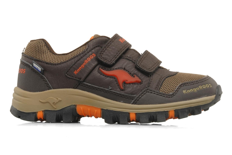 Sneakers Kangaroos Tigua V Bruin achterkant