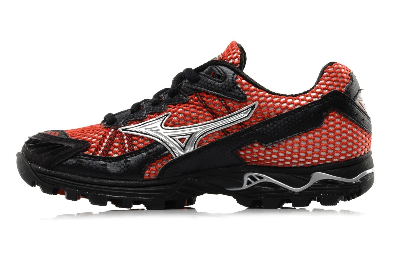 Chaussures de sport Mizuno Wave Harrier 3 W Rouge vue face