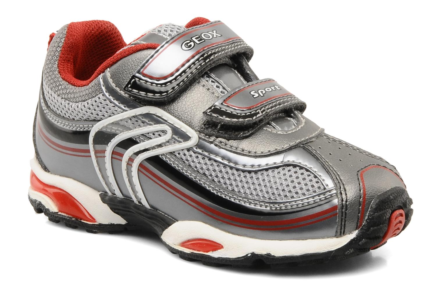 Sneakers Geox B extra C Rood detail