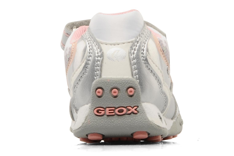 Sneaker Geox B N.jocker H silber ansicht von rechts