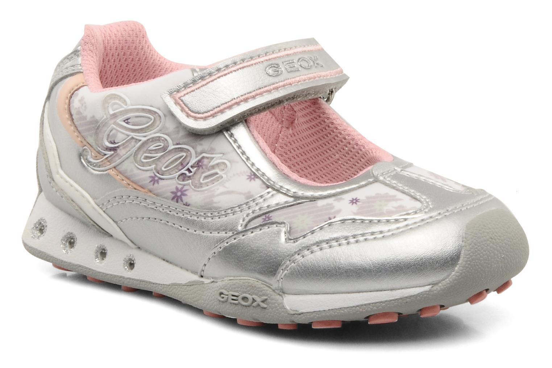Sneaker Geox B N.jocker H silber detaillierte ansicht/modell