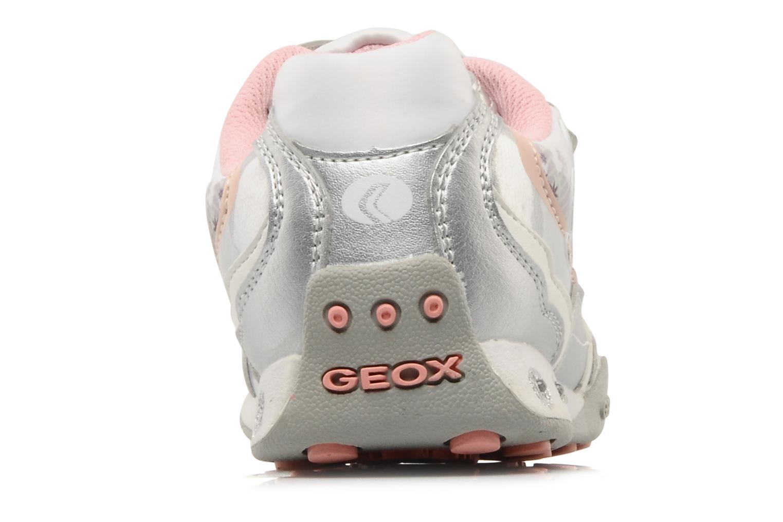 Sneakers Geox J N.jocker G.G Argento immagine destra