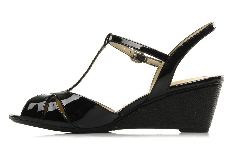 Sandales et nu-pieds Naturalizer Holt Noir vue face
