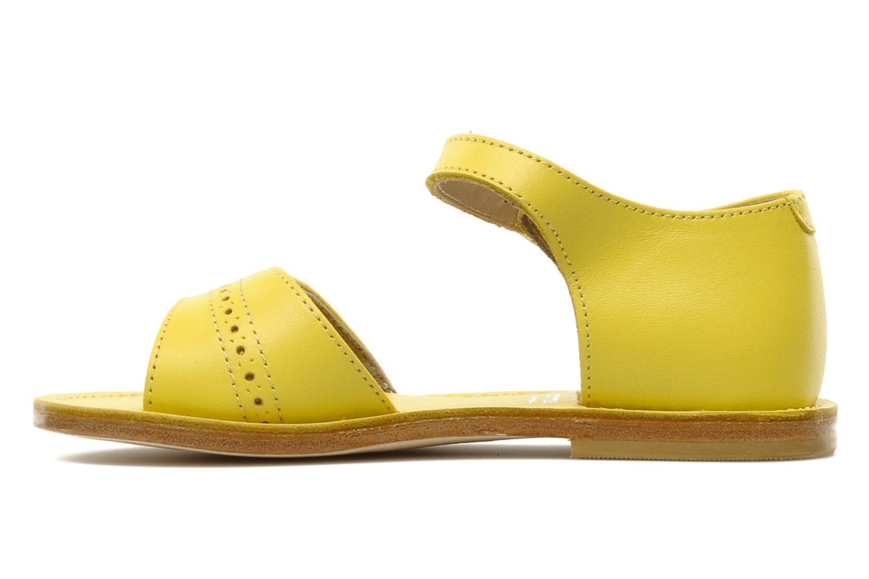 Sandalen start rite classics MEG Geel voorkant
