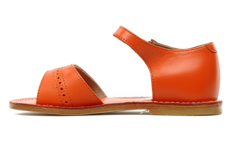 Sandales et nu-pieds start rite classics MEG Orange vue face